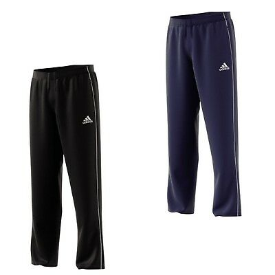 adidas Jogginghose Herren Sporthose Trainingshose RV Taschen schwarz blau