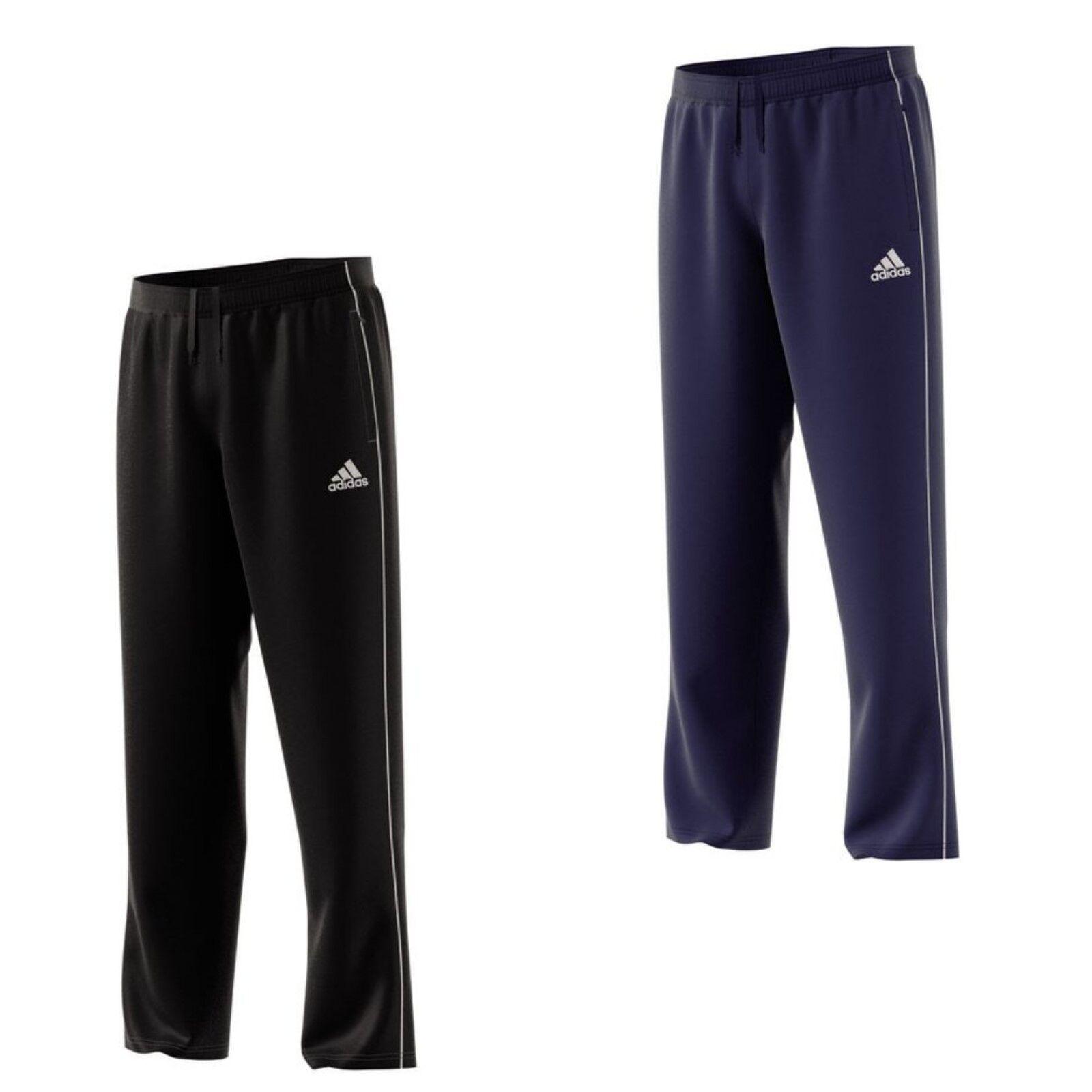f052422cb071c2 adidas Sporthose Trainingshose Herren Reißverschluss Taschen schwarz blau  Hose