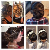 Professional Hairstylist Specializing in Updos & Style Calgary