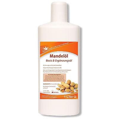 KK Mandelöl 1 L Massageöl Entspannung Wellness Physiotherapie Massage raffiniert