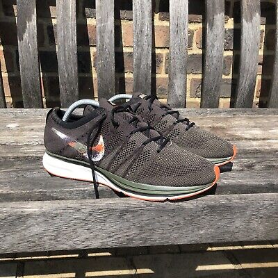 Nike Flyknit Racer Trainers Running Shoes Size uK 9