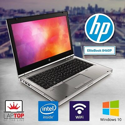 HP Laptop Computer Intel Core i7 4GB RAM 500GB Windows 10 Pro DVD WiFi HD Webcam