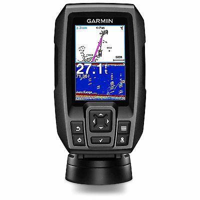 Garmin STRIKER 4 Fishfinder with 4-Pin 77/200kHz TM Transducer 010-01550-00