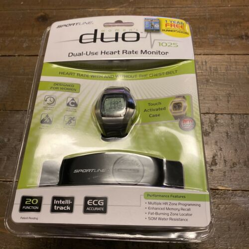 Sportline DUO 1025  Heart Rate Monitor