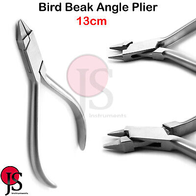 Orthodontic Bird Beak Plier Dental Wire Bending Loop Forming Lab Instruments Ce