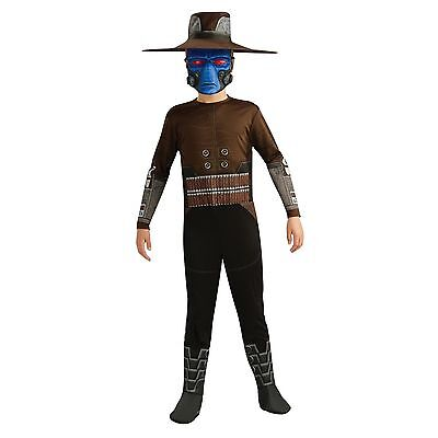 Boys Star Wars Cad Bane Costume Halloween Child Kids Med 8-10 for 5-7 years  - Bane For Halloween
