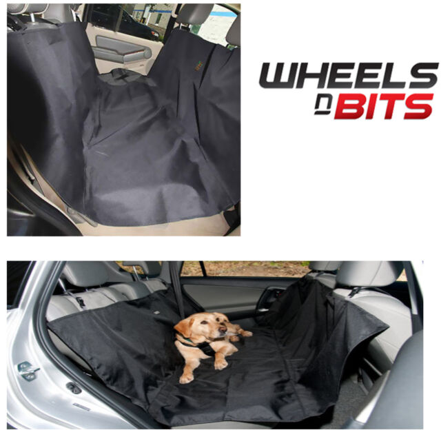 HEAVY DUTY CAR REAR BACK SEAT BOOT PET DOG PROTECTOR MAT WATER RESISTANT  COVER