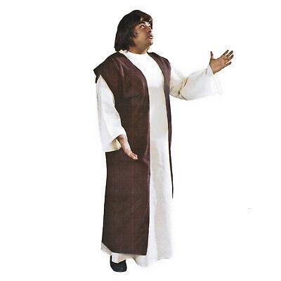 Mens Christmas Biblical Religious Church Play Shepherd Jesus Nativity Robe Adult - Religious Christmas Plays