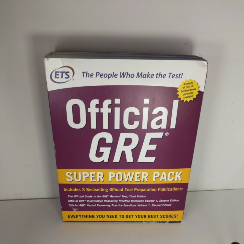 Official GRE Super Power Pack, Second Edition Educational Testing Service