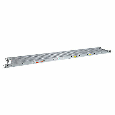 2 Man 500 Lbs. Capacity 20 X 24 Stage Aluminum Plank