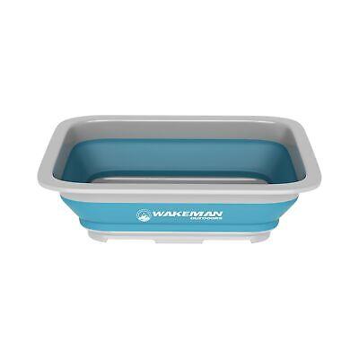Wash Collapsible Outdoors Portable Bin- Bucket Basin/Dish Tub/Ice L 10 Capacity