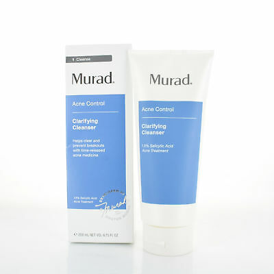 Murad Acne Cotnrol Clarifying Cleanser 6.75oz/200ml NEW IN BOX