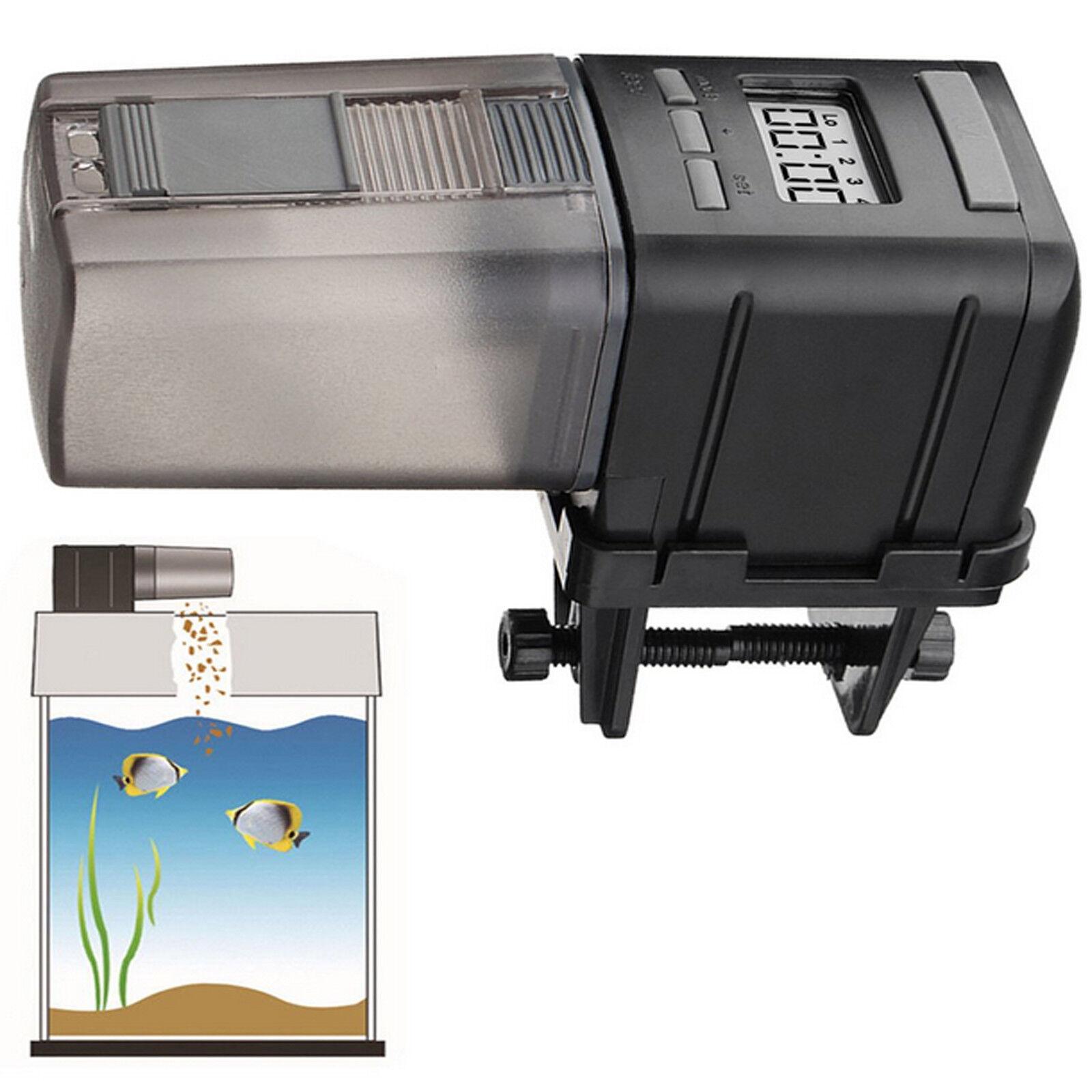 Intelligent Fischfutterautomaten Mini Automatisch Fisch Futterautomat Aquarium