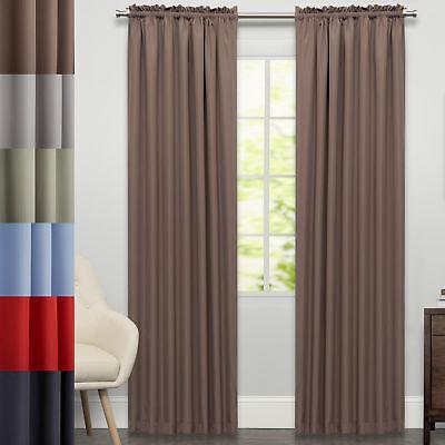 Ribcord Tailored Window Curtain Single Panel  84
