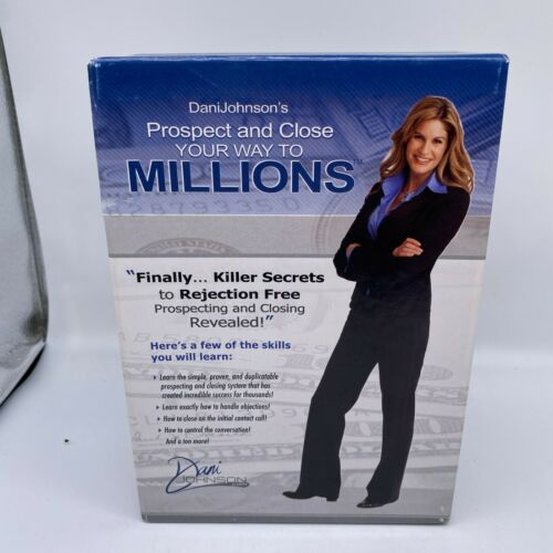 """Dani Johnson 7CD set """"Prospect and Close Your way To Millions"""""""