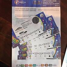 UEFA Euro Cup 2016 Quarter-Finals @ Marseille, 4 x Tickets Thornbury Darebin Area Preview