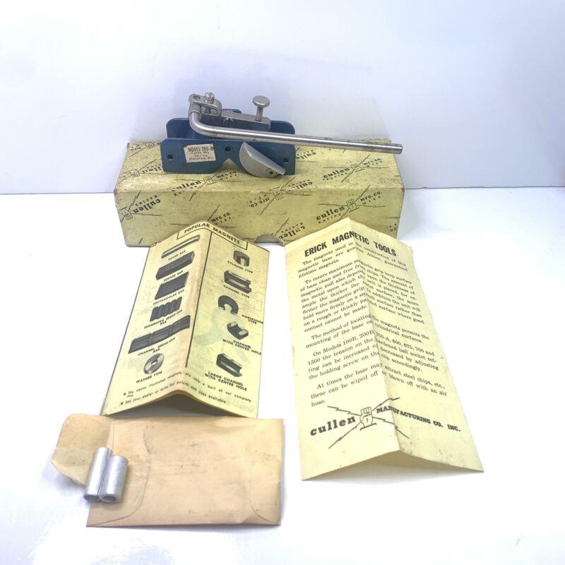 Vtg Erick Magna Holder *No Initials* indicator base stand W/ Box And Paperwork