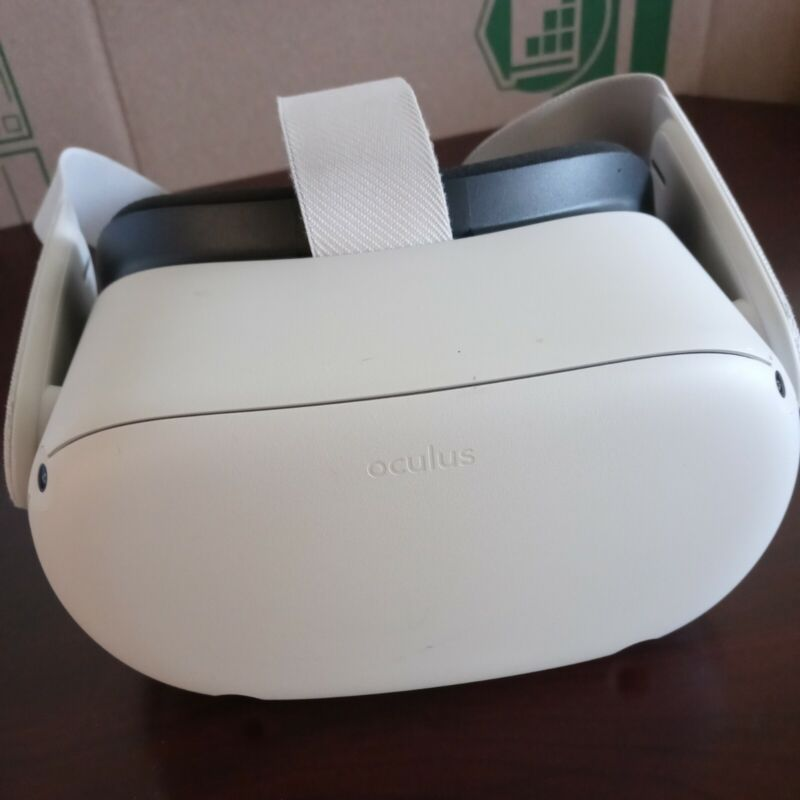 Oculus Quest 2 64GB VR Headset PreOwned Head Set Only No Controllers Or Cables
