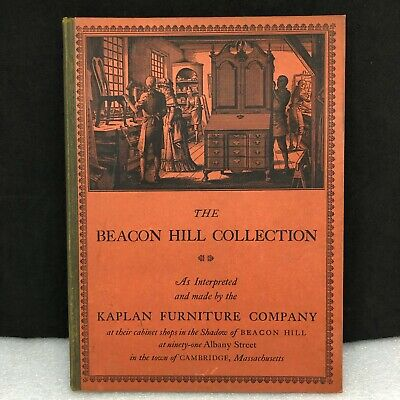 Beacon Hill Collection Kaplan Furniture Co 5th Ed.1942 Repro Furniture Catalog