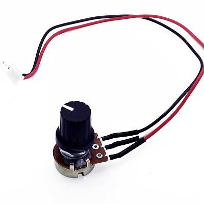 10k Ohm Linear Taper Rotary Potentiometer B10k Pot With Knob And 3-pin
