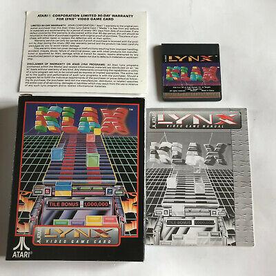 Klax / CIB / Atari Lynx Game / #2