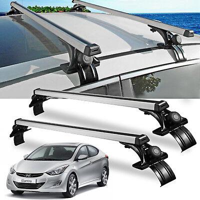 For Hyundai Elantra Sonata Car Sedan Luggage Cross Bars Roof Rack Carrier 47Inch