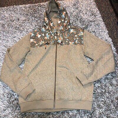 HOWLER BROS Rooster design Full Zip Sweatshirt Hoodie Mens Sz M Heed the Call