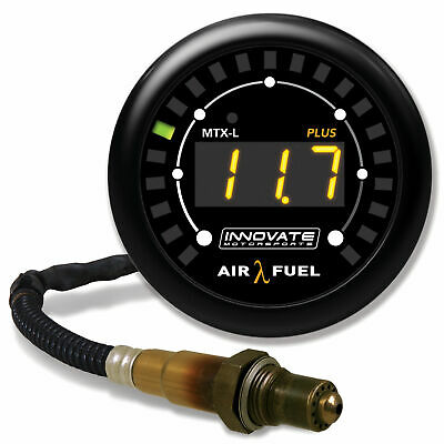 Innovate Motorsports MTX-L Plus Wideband Air/Fuel Ratio Gauge - 3ft Cable