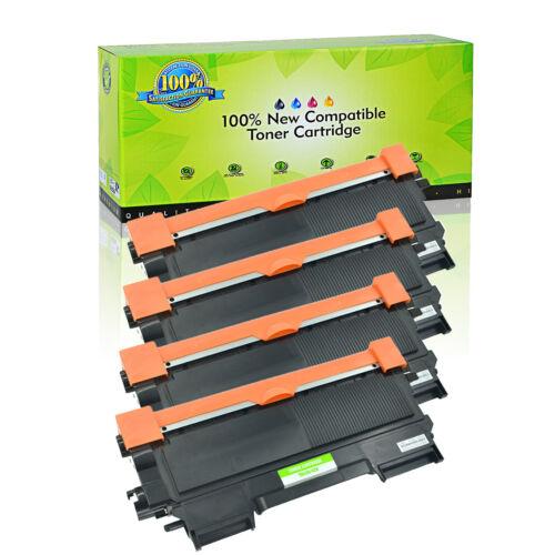 4pk black tn450 toner cartridge for brother