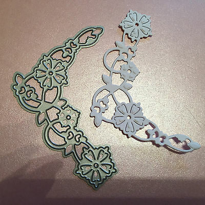 TONIC STUDIOS WITH LOVE FLORAL CORNER CUTTING & EMBOSSING DIE LOT 1