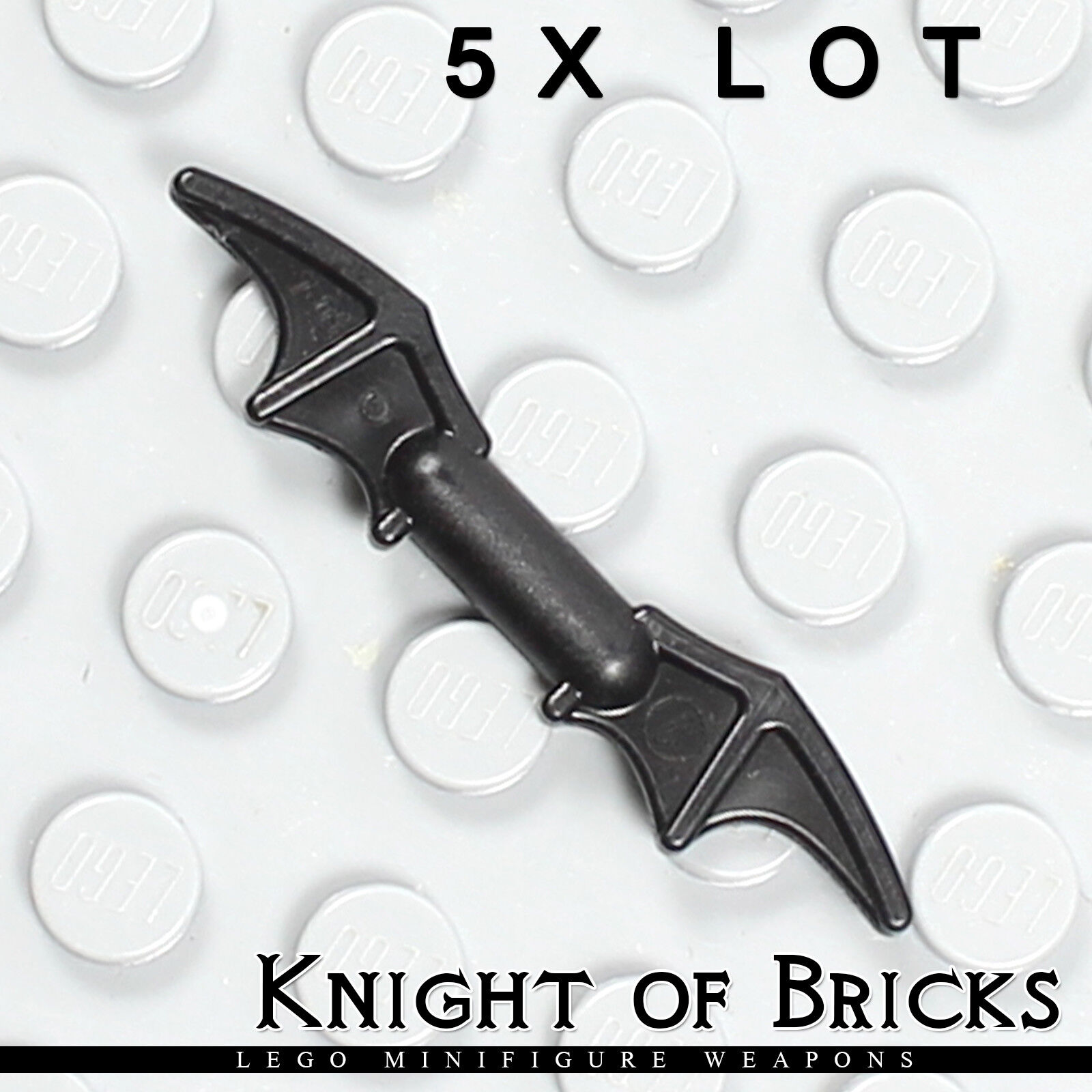 Weapon Batman Bat-a-Rang 4 LEGO Black Minifig