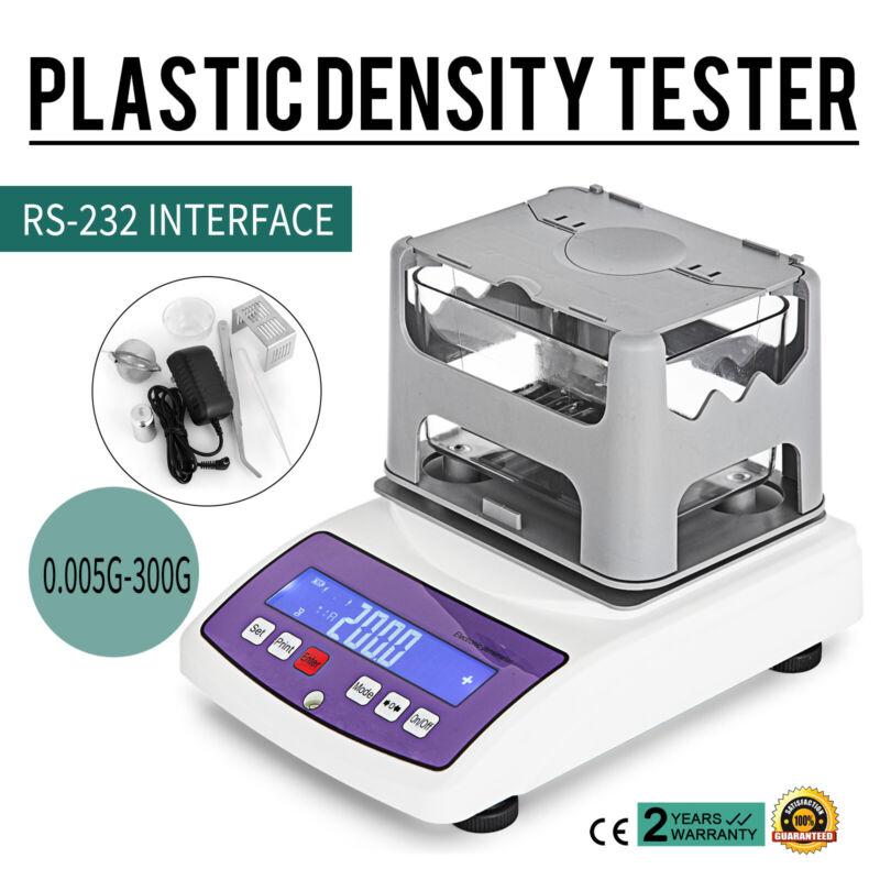 300g*0.005 Plastic Density Tester Electronic Densimeter Hydrometer Printerable