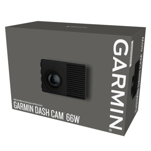 "Garmin 66W 1440p HD Dash Cam Camera 2"" LCD Screen Voice Control 180 Degree View"