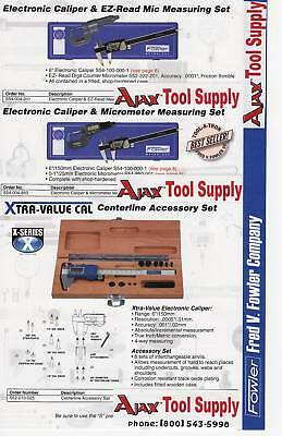 Fowler Electronic Caliper Centerline Set 52-010-025
