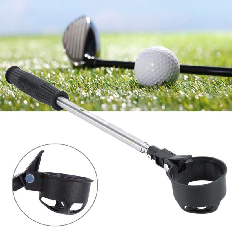 Ball Retriever Telescopic Design Grip Stainless Steel Golf Ball Picker Supplies
