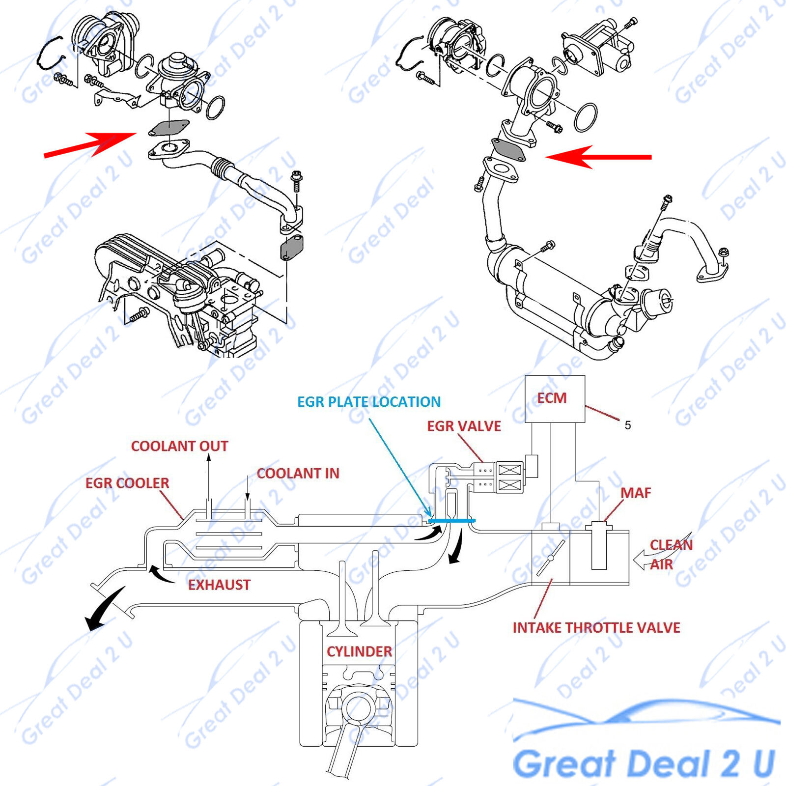 Arb Switch Schematic Free Wiring Diagram For You Rocker Egr Blanking Plate Fits Ford Ranger Px Pxii Mazda Bt 50 3 Harness