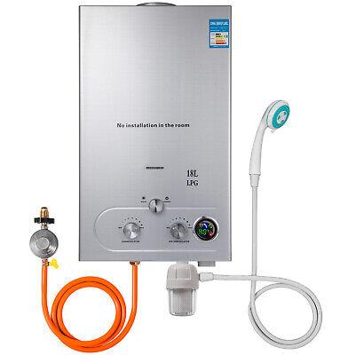 18L Warmwasserspeicher Durchlauferhitzer Propangas Wasserfilter  Gasregler