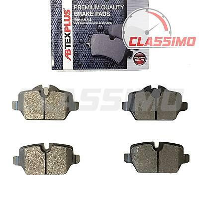 Rear Brake Pads for BMW 1 SERIES E81 E87 - 116i 116d 118i 118d 120i - 2004-2012