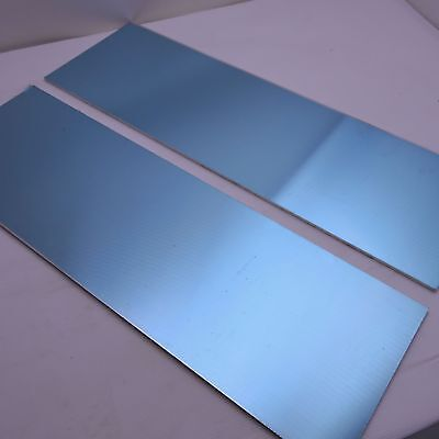 .25 Thick 14 Precision Cast Aluminum Plate 7.25x 21.5 Long Qty 2 Sku175269