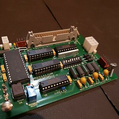Perseptive Biosystems 16 Bit Dac Pcb 107022 Rev. 3 Tested With Mount Screws