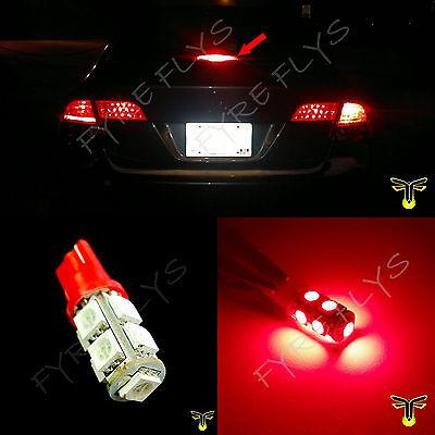 1x 3rd brake light red LED high mount upper center stop bulb lamp third R1x1