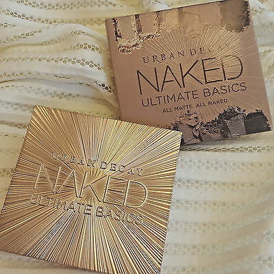 Brand New URBAN DECAY Naked ULTIMATE BASICS Eyeshadow Palette 12 shades SALE!