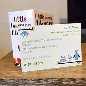Tutor for Primary School Education Taylors Hill Melton Area Preview