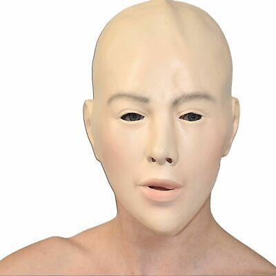 Frauen MASKE Gesicht* Transgender Crossdresser Schaumlatex* Fasching Halloween