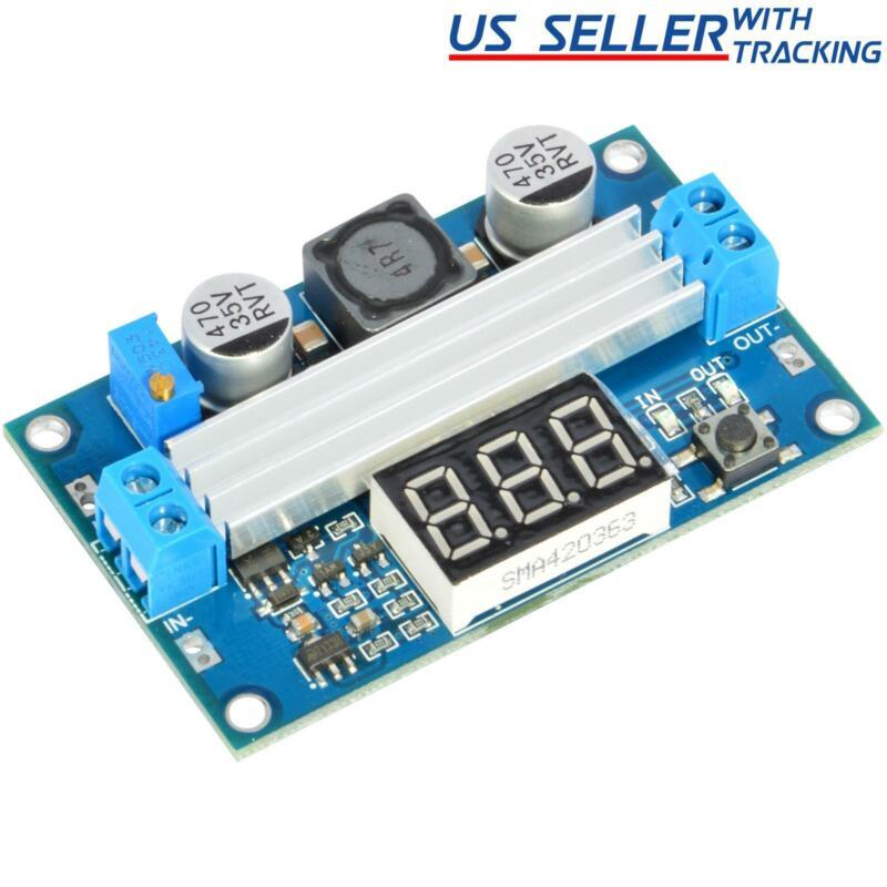 FP5139 100W DC Boost Step-up Adjustable Voltage Power Converter LED Voltmeter