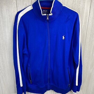 Polo Ralph Lauren Men's Performance Full Zip Jacket Size Large Blue