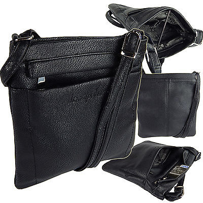 Damentasche Schultertasche Umhängetasche Beutel Freizeit-shopper 3966 Schwarz 0