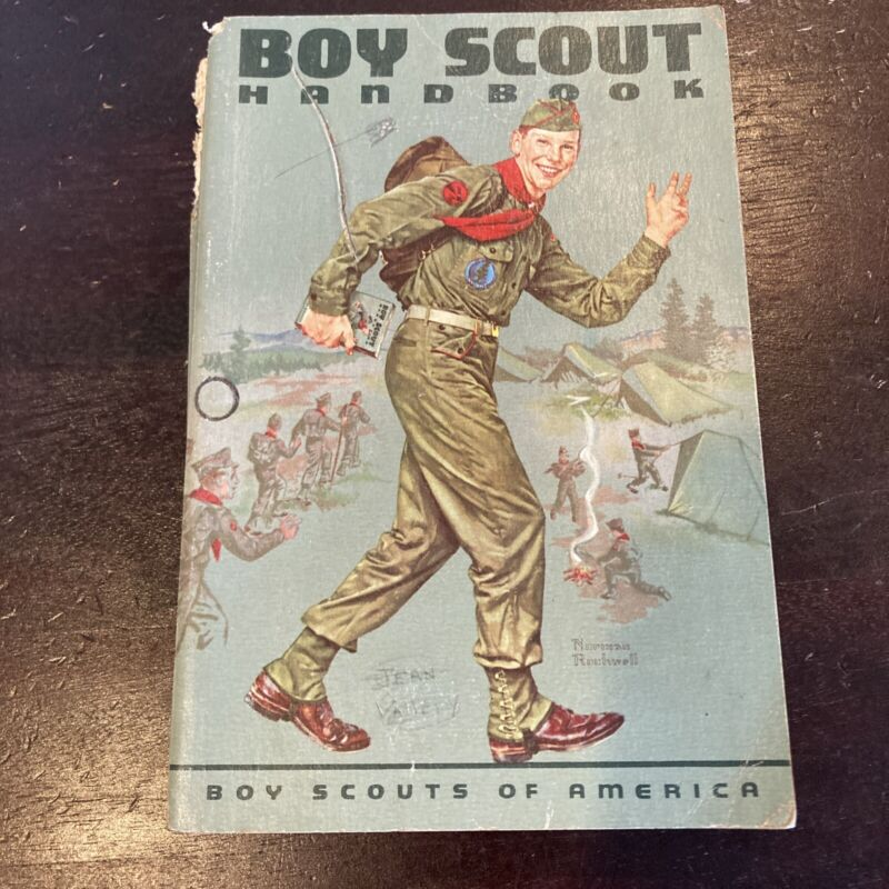 Boy Scout Handbook 1962 Edition - Norman Rockwell Cover