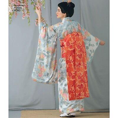 S4080 Simplicity 4080 Sewing Pattern Movie Costume Disney Geisha Kimono Japanese
