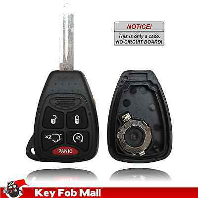 New Key Fob Remote Shell Case For a 2007 Dodge Durango w/ 5 Buttons